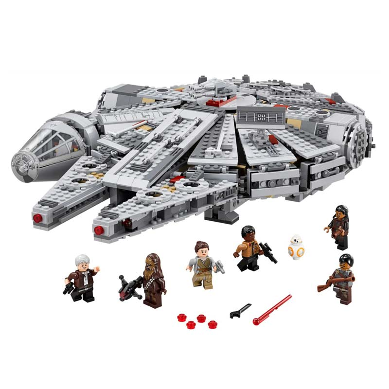 Millennium Ship With Magic Movie Action Figures Model Building Blocks Bricks Set Gifts Educational Toys For Children