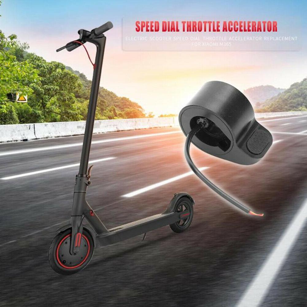 Acelerador de pulgar de Dial de velocidad de patinete eléctrico para Xiaomi, accesorios de palanca de cambios de Dial de Scooter Pro Millet Trigger M365 Sc T4W3