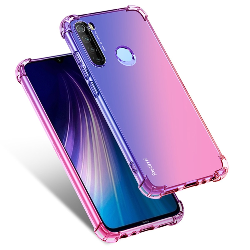 Mode Gradienten Fall Für Xiaomi Mi 9 SE A3 Lite 9T Pro CC9 CC9E Note10 Weiche TPU Abdeckung Für redmi K20 8A 7A Hinweis 8 7 6 5 Pro 8T