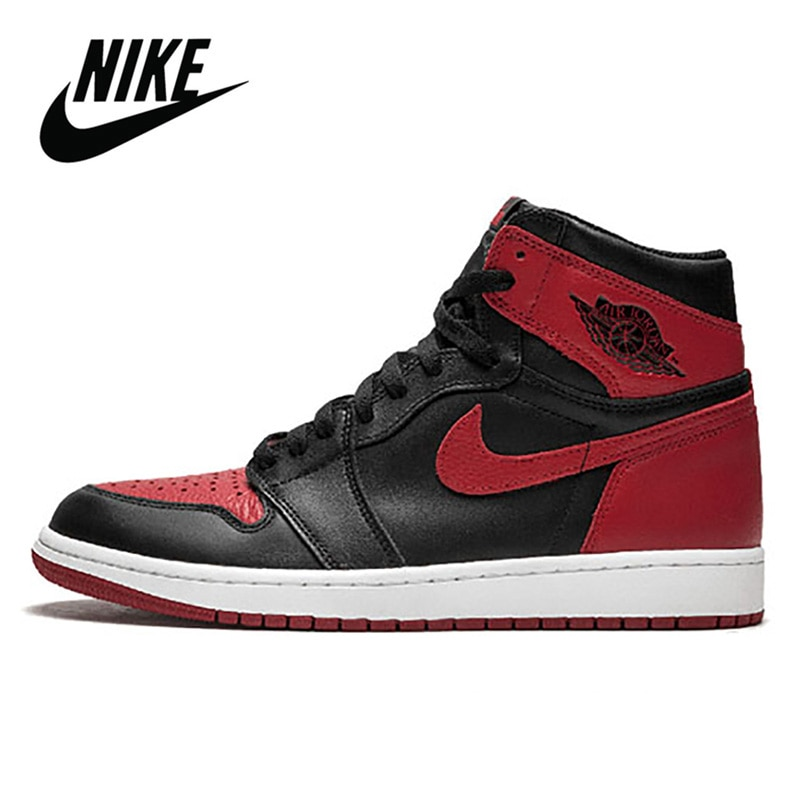 B08 2021 New Air 1 Men FileRecv AJ 1 Chicago Red mid-top Women basketball shoes size Comfortable Woman Size 36-44