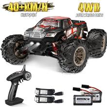 2.4G RC Car 40KM/H High Speed Racing Remote Control Truck for Adults 4WD Off Road Monster Trucks Cli