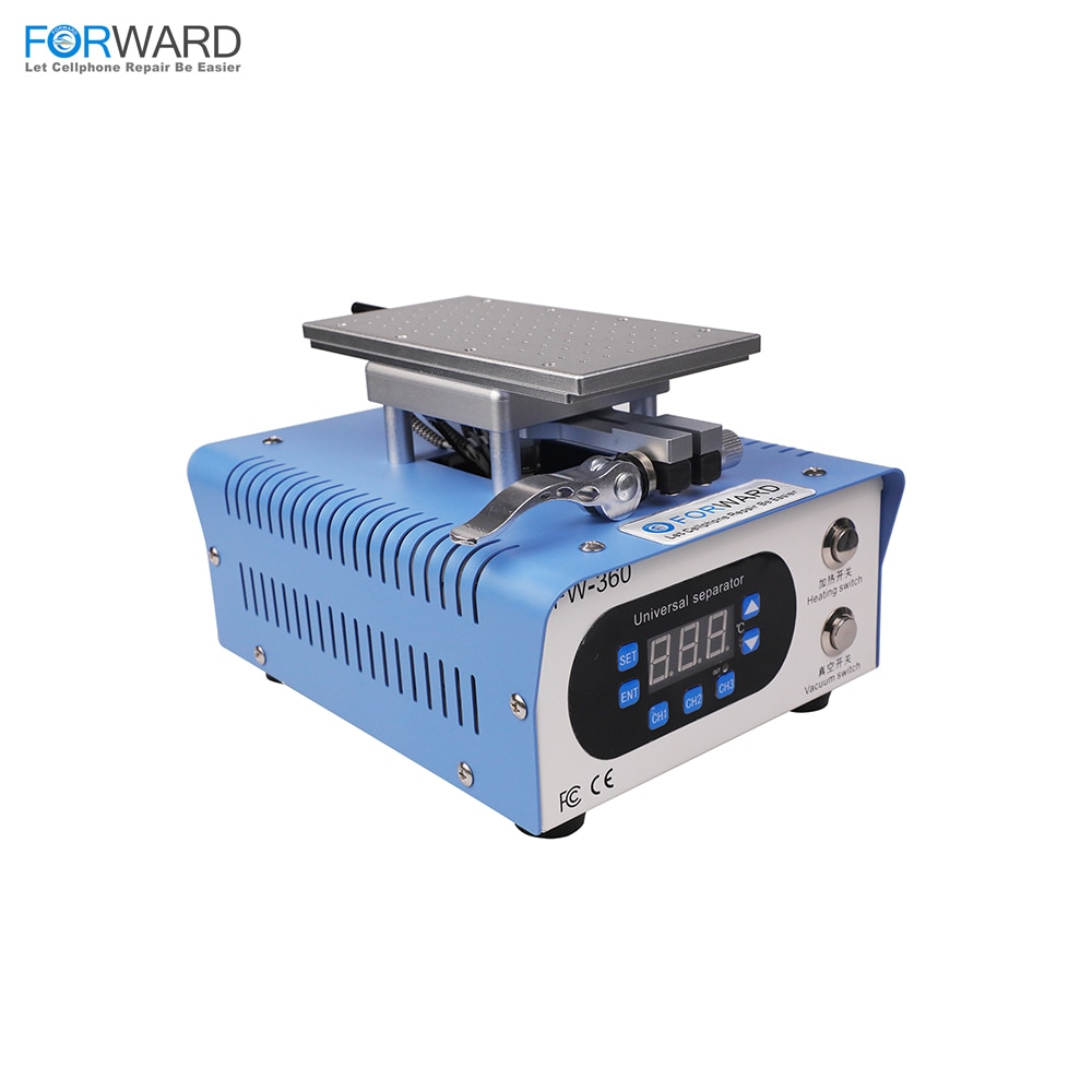 FORWARD FW-360 Rotary LCD Separator Machine with Two-Button Control for All Phone LCD Screens Repair Separating Machine enlarge