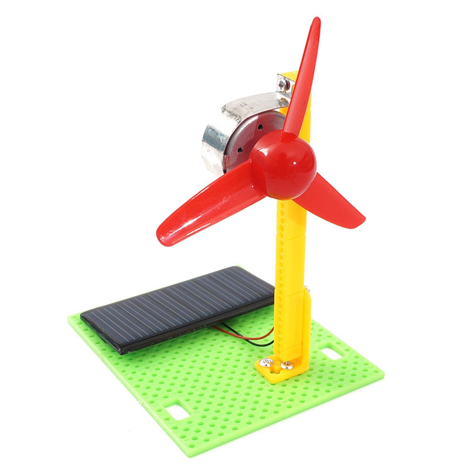 DIY Новые электровентиляторы на солнечной батарее, физический мотор, электросхема, набор, научная игрушка, развивающий физический экспериме...