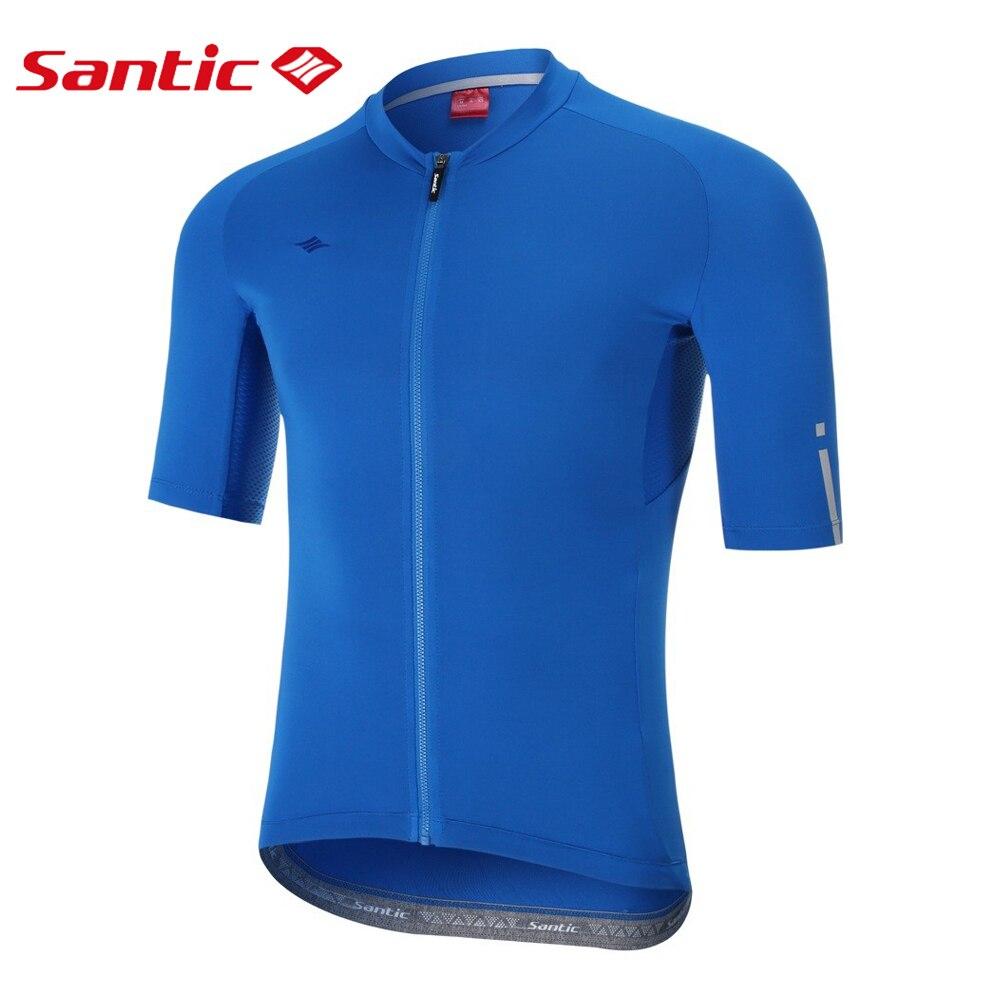 Camisa de Ciclismo Camisa de Corrida da Motocicleta Homem Manga Curta Verão Maillot Ciclismo Respirável Secagem Rápida Mountain Bike Jérsei Azul