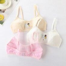 Kids Girls Underwear Soft Adjustable Bra Vest Children Cotton Blended Underclothes Undies Clothes Sp