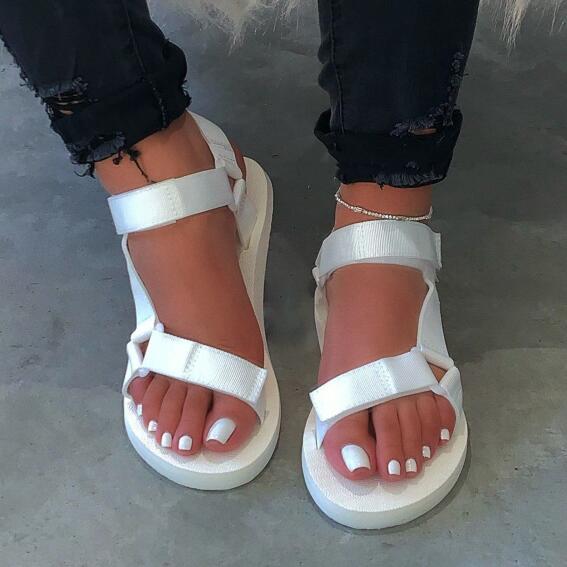 Doce cor mulher chinelos de praia ao ar livre 2020 nova mulher primavera/verão macio-deslizamento antiderrapante sandálias de espuma única durável neon sandálias