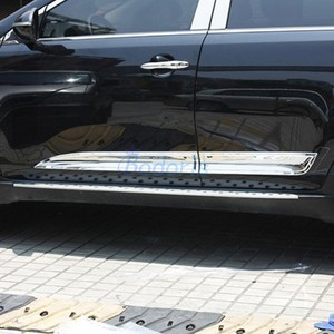 Body Side Door Moulding Trim Kits Chrome Car Styling 2010 2011 2012 2013 2014 2015 For Kia Sportage Accessories