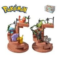 8 2 21cm pikachu anime toys for kids christmas gifts cartoon anime pokemon action figure toys model decoration toys sets