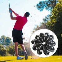 10pcspack golf iron covers set 3456789sap lightweight waterproof