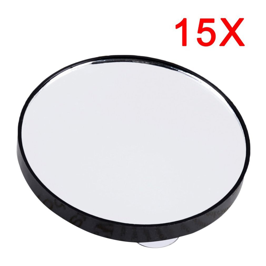 Portable Vanity Mini Pocket Round Makeup Magnifying Mirror With Two Suction Cups Compact Cosmetic Mi