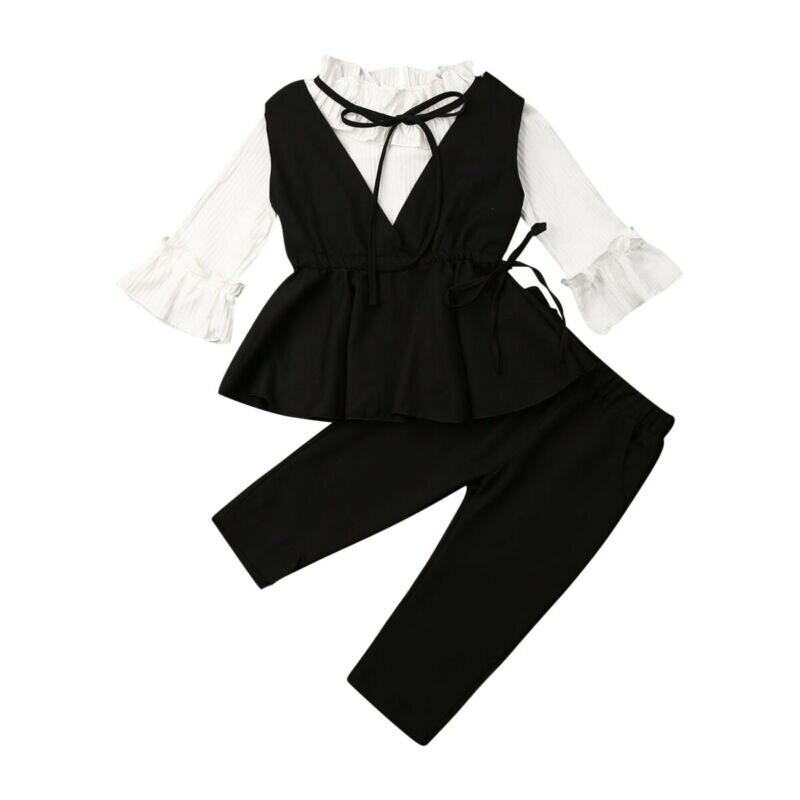 Комплект детской одежды, Детский костюм, вечерние вязаные свитера, Осенний Набор тканевых салфеток, одежда для девочек-подростков, одежда для маленьких девочек