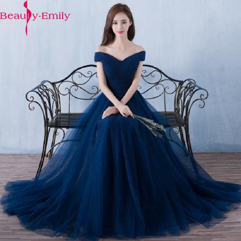Beauty Emily-فستان سهرة طويل أزرق ملكي ، أنيق ، ظهر عاري ، برباط ، فستان ماكسي للحفلات ، 2021