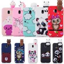 3D Cute Panda phone Case For Samsung Note 8 Case Candy TPU For Samsung Galaxy A5 A7 J5 J7 2017 A9 2018 S8 S9 S10 Plus A50 A70 S7