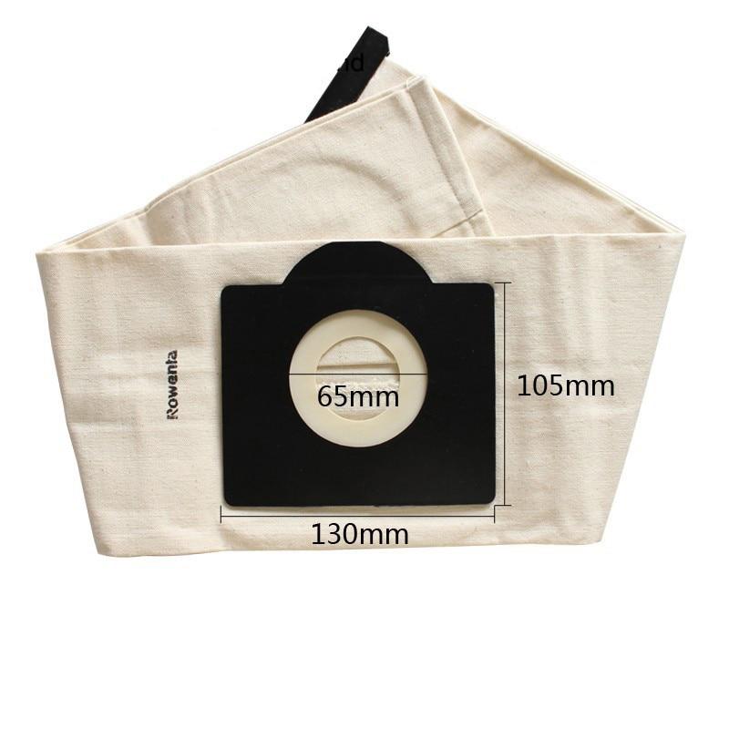 3 uds para KARCHER filtro de tela bolsa WD3 MV3 SE4001/SE4002 6.959-130 A2200 A2500