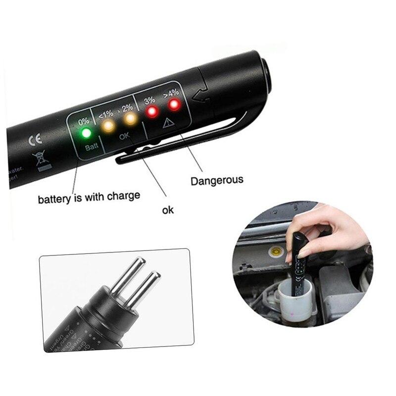 Автомобильный тестер тормозной жидкости, ручка для определения качества автомобильного масла, автомобильный диагностический инструмент