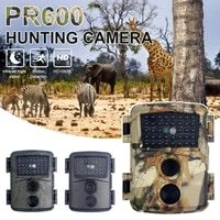 1pcs pr600 hunting camera trail game camera 12mp wild life trail with night vision motion trail thermal imager video cameras