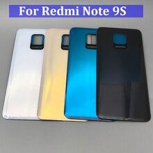 10 шт., запасной стеклянный аккумулятор, задняя крышка для Xiaomi Redmi Note 9S