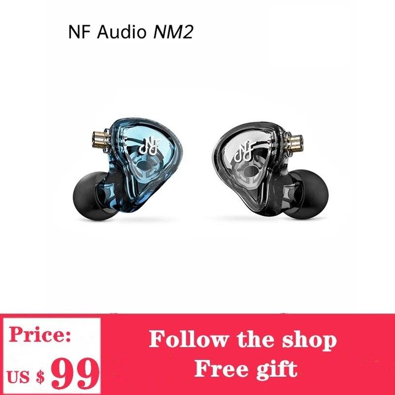NF Audio NM2 سماعة مزدوجة تجويف سماعة مع 0.78 مللي متر 2Pin سماعة كابل
