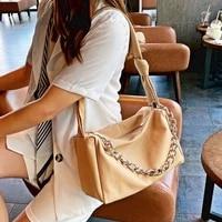 soft leather designer bags luxury women handbag top handle tote brand sac a main chain messenger bags crossbody shoulder bolsos