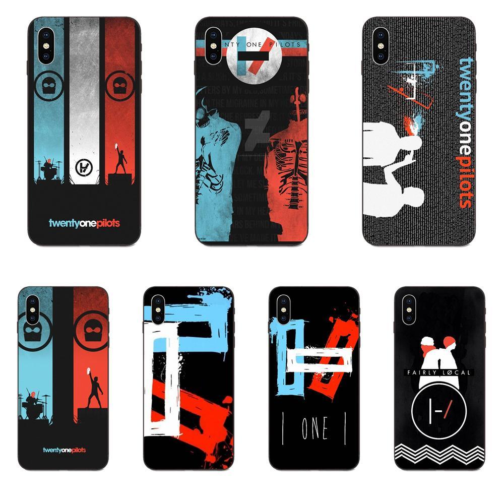 21 veinte pilotos 11 Galaxy A3 A5 A6 A6s A7 A8 A9 A10 A20E A30 A40 A50 A60 A70 A80 A90 Plus 2018 TPU teléfono celular negro
