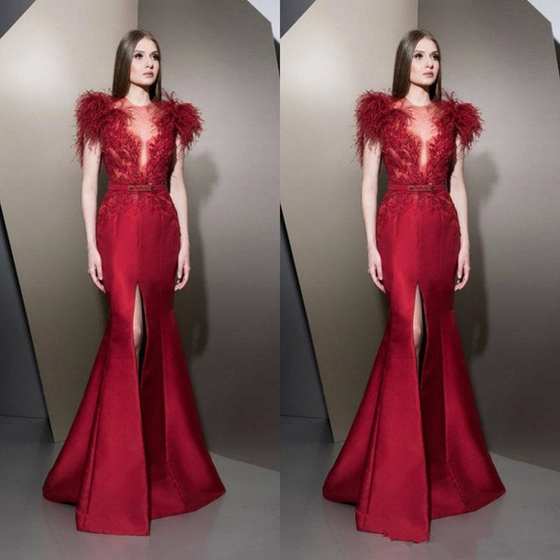 Вечерние платья, Красные кружевные Длинные вечерние платья с аппликацией для выпускного вечера, 2020 короткое платье, вечерние платья для вып...