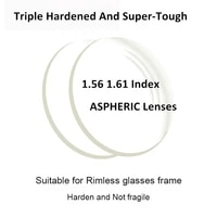 1 56 and 1 61 mr 8 high quality hard thinner mingyue super tough optical lenses aspherical punch for punch trough trim