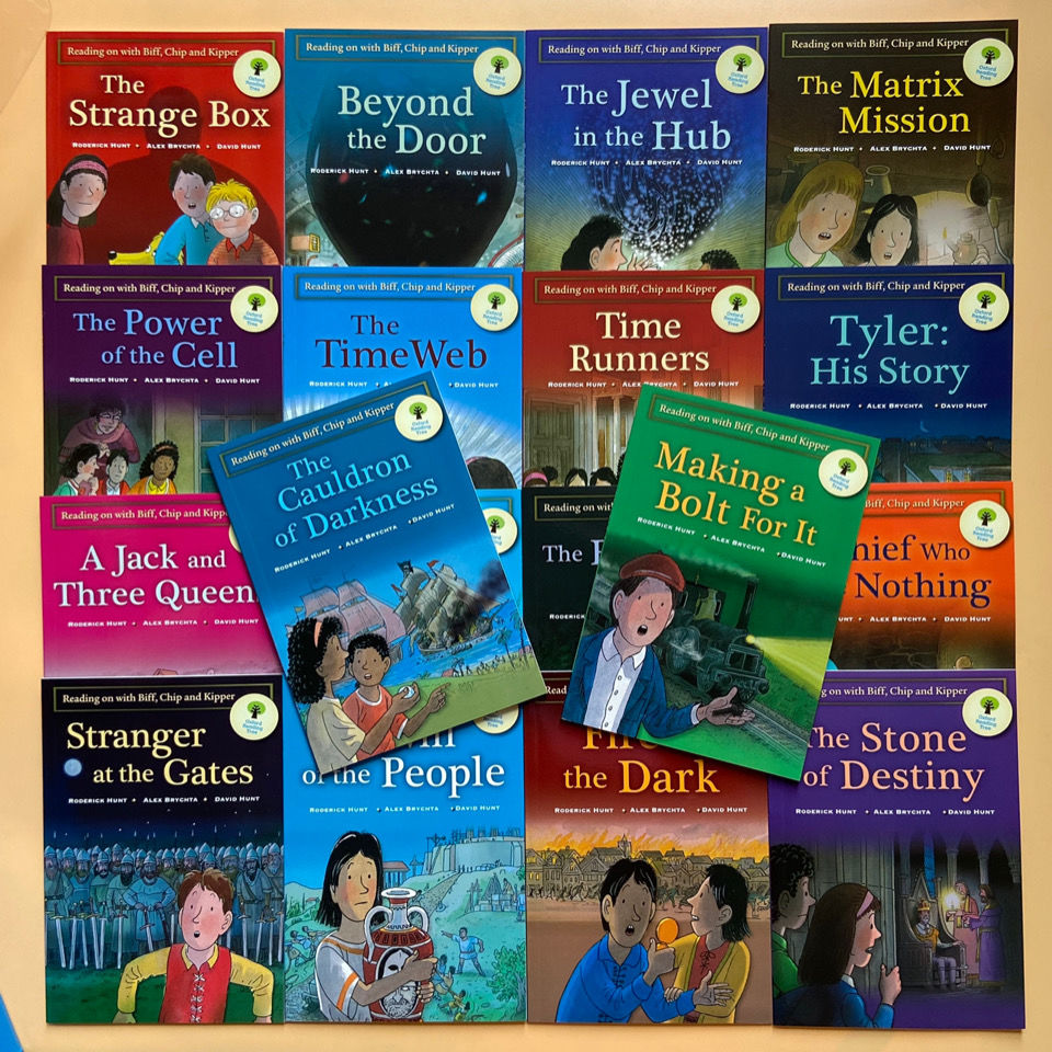 Фото - 18 books Oxford reading tree level 10-12 English graded reading picture books,children's chapter novels English story book sowton c kennedy a unlock level 4 reading writing critical thinking student s book english profile b2