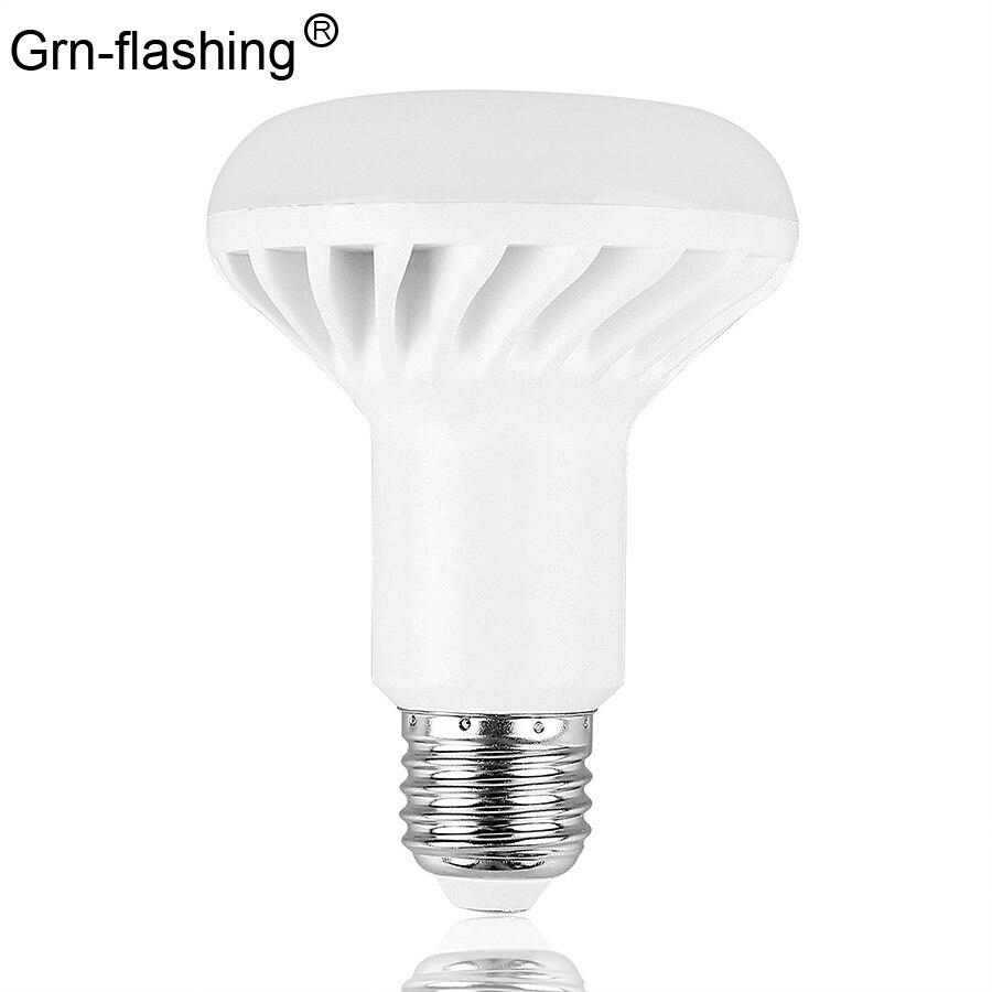 E27 E14 светодиодные лампы SMD 5730 R39 R50 R63 R80 5 Вт 7 Вт 9 Вт 12 Вт светодиодные прожекторы AC85-265V лампы с питанием белый/теплый белый