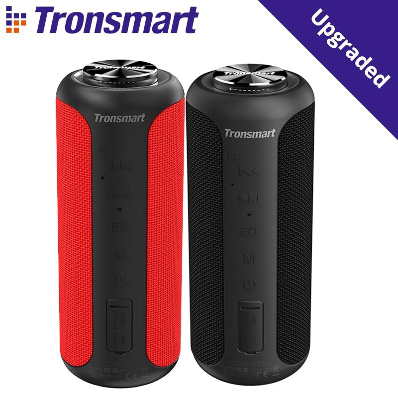 Tronsmart T6 Plus نسخة مطورة بلوتوث 5.0 المتكلم المحمولة مع ما يصل إلى 40 واط السلطة ، 360 درجة الصوت المحيطي ، IPX6 مقاوم للماء ، NF