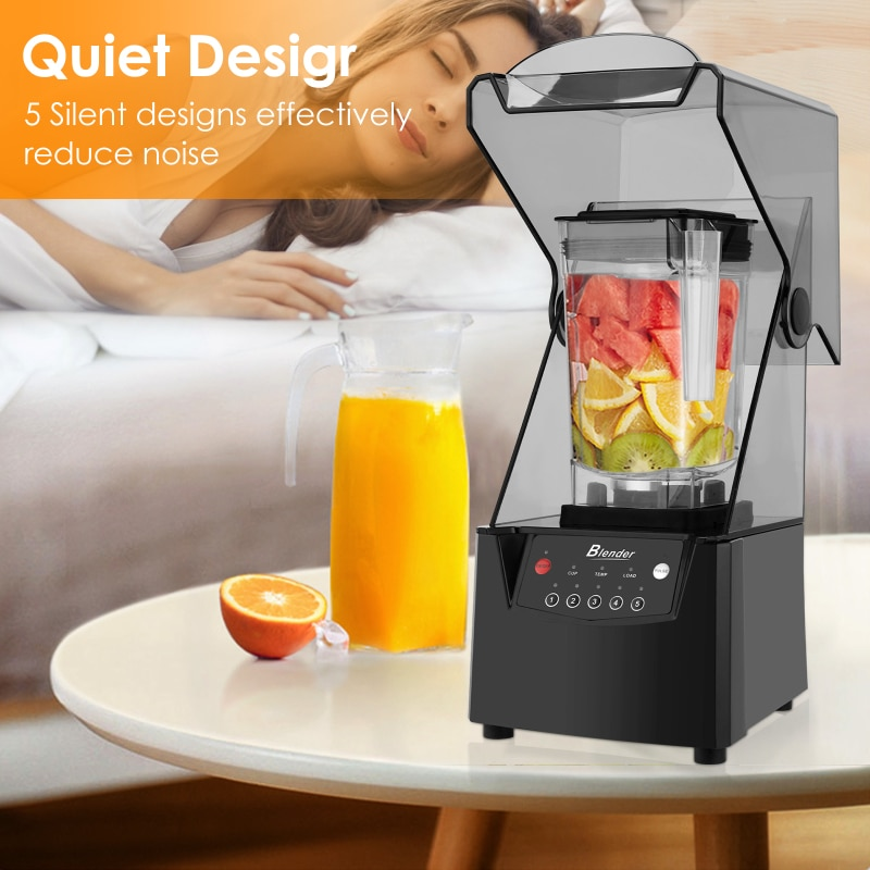Smoothie Machine Milk Tea Brewing Machine Milk Cover Machine Smoothie Smooth Ice Crusher Silent Broken Wall Cooking Machine enlarge