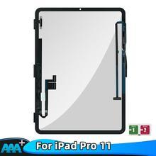 100% Test Für Apple iPad Pro 11 A1934 A1980 A1979 Touchscreen Glas Panel Screen Digitizer Montage Ersatz Für iPad pro 11