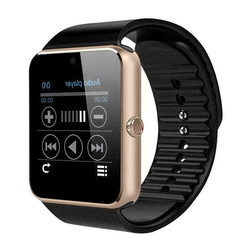 Reloj inteligente con cámara frontal GSM Monitor de ritmo cardíaco durante el sueño reloj deportivo GY88