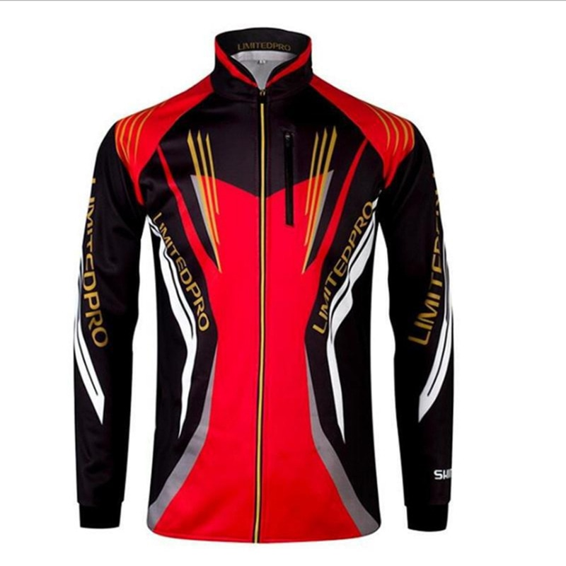 Fishing Shirt Tops Breathable Fishing Jersey Long-Sleeve Hoodies Hiking Cycling Clothes Jacket Sun Protection Clothing