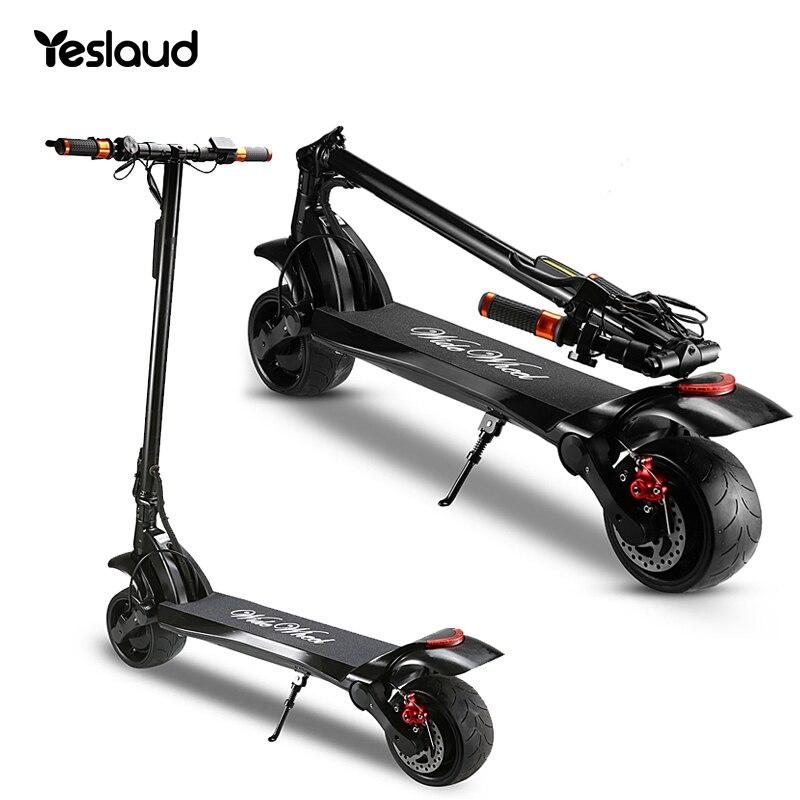 Складной мини электрический скутер 1000 Вт/48 в 500 Вт используемый для взрослых Электрический скутер дешевый ширококолесный профессиональный ...