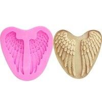 6 8cm6 6cm0 8cmsmall silicone moldangel wings fondant cake decoration tool chocolate fudge mold