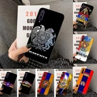 hot armenia armenians flag phone case for huawei y5 y62019 y52018 y92019 luxury funda case for 9prime2019