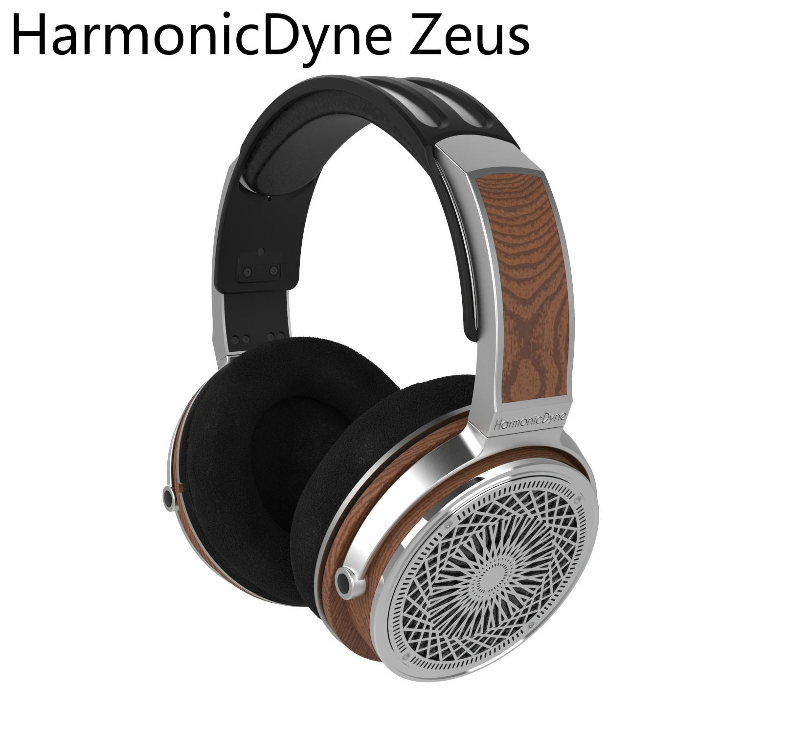 Haraicdyne-سماعات Zeus الصوتية ، سماعات رأس استريو ، صوت 50 مللي متر ، hi-fi ، صوت عالي الدقة ، استوديو DJ ، للموسيقي فوق الرأس ، MMCX