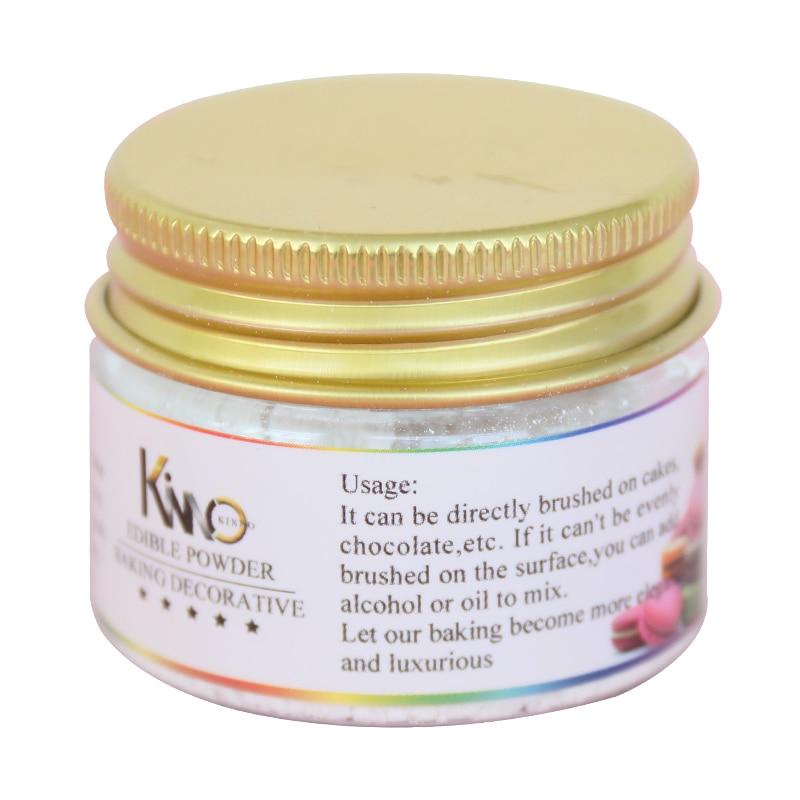 KINNO-pigmento comestible para alimentos, 10g, Color blanco, para decoración de tartas, repostería,...