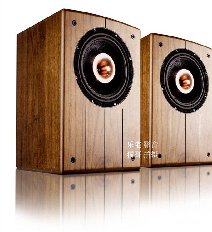 M-002 Coaxial-8 inch coaxial fever hifi bookshelf speaker high fidelity passive speaker audio
