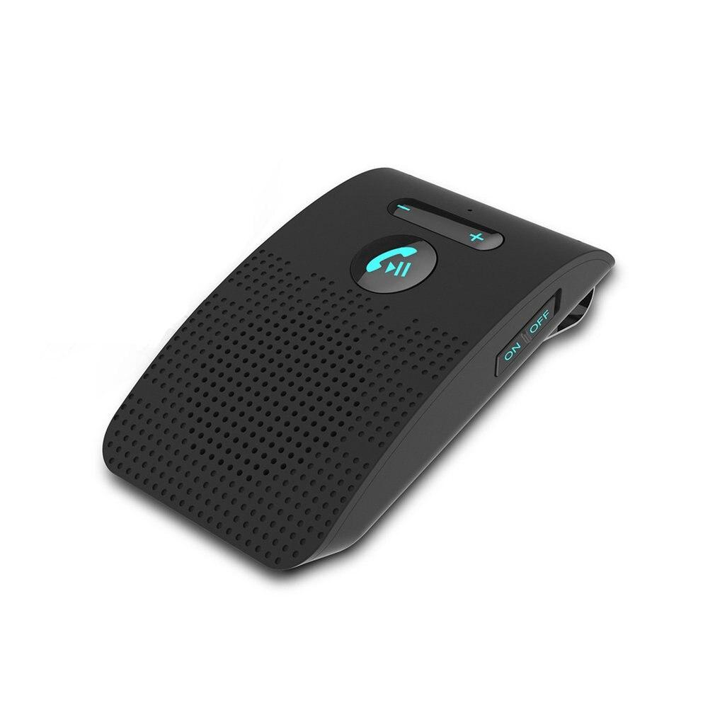 Visor de Sol Bateria de Lítio Carro Hands-free Chamada Receptor Suporte Conexão Dupla um Clique Resposta Bluetooth Embutido 550mah Sp09