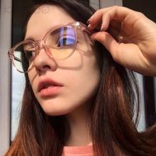 KOTTDO Fashion Vintage Eye Frames for Women Classic Computer Prescription Glasses