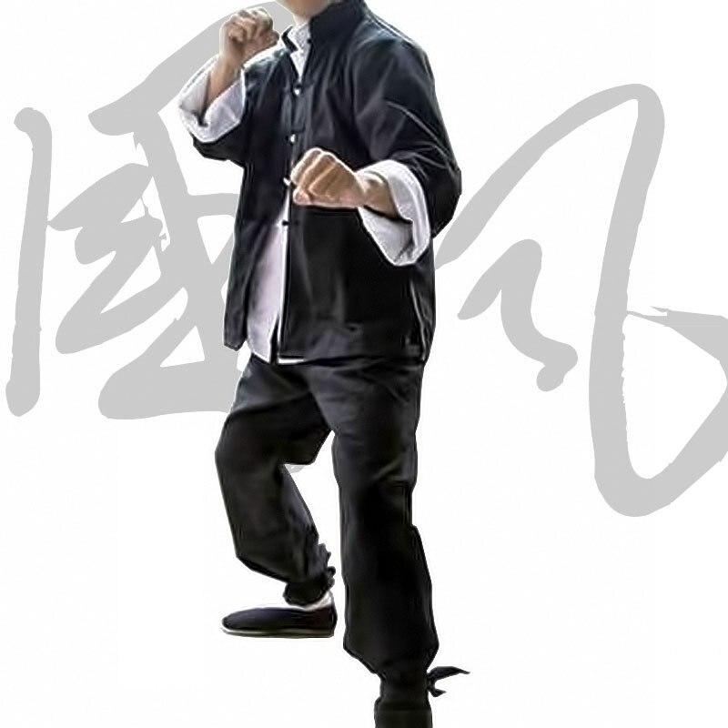 Traje Tang chino clásico, trajes de Kung Fu para hombres, ropa de Wing Chun Taiji Tai Chi