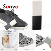 sunvo cleaning eraser rubber block for suede leather shoes boot clean brush stain removal shoe care cleaner wipe accessories