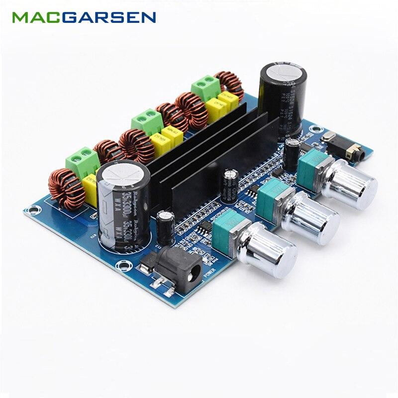 Amplificador De Potencia Bluetooth TPA3116, TPA3116D2, Subwoofer estéreo, Amplificador, Control De volumen,...