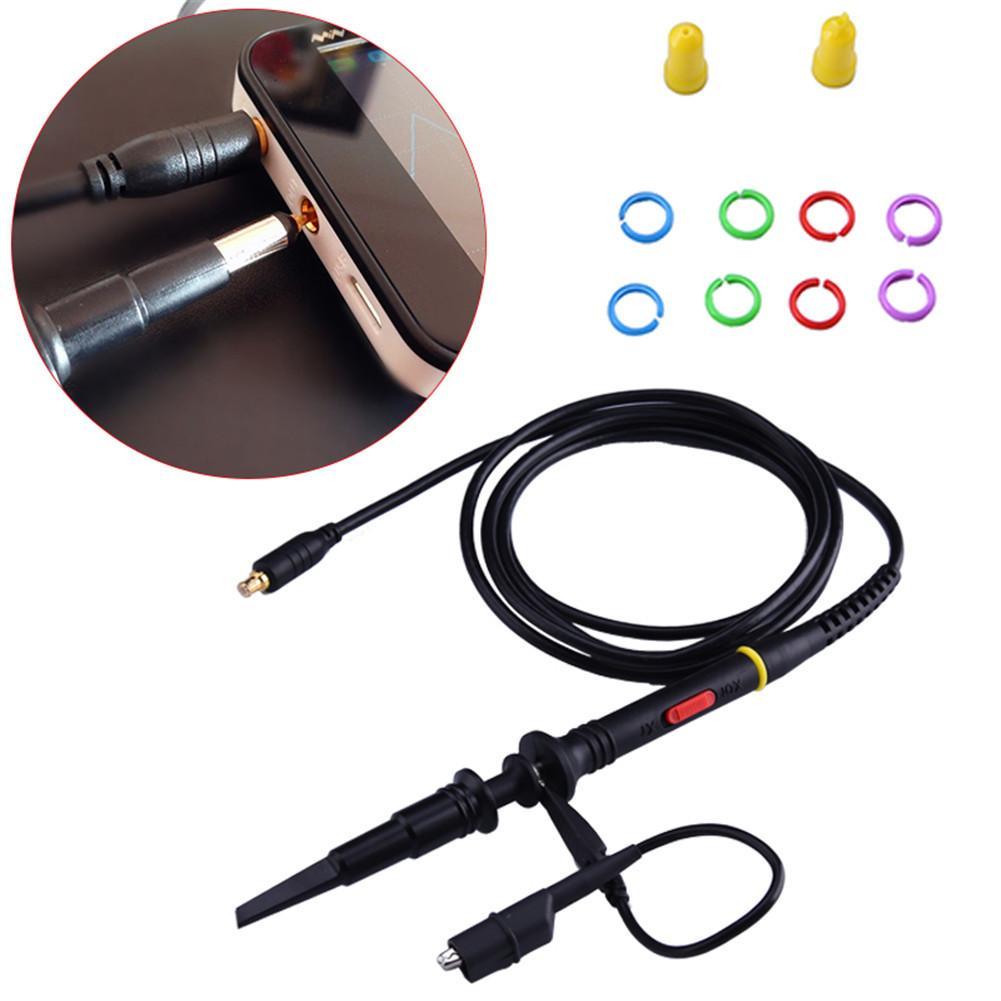 Sonda de Osciloscopio especial de alta calidad para Mini Osciloscopio DS211 DS203 DS202 DS212 sondas de Osciloscopio multiuso