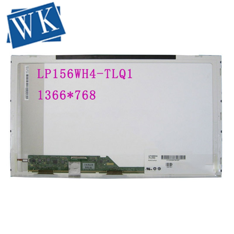 """LP156WH4-TLQ1 TLQ2 LP156WH4 TLQ1 LP156WH4 (TL)(Q1), matriz de pantalla LED LCD para ordenador portátil de 15,6 """"1366X768 40Pin"""