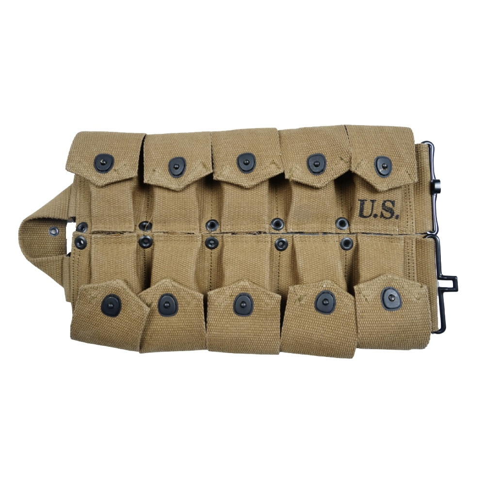 US 10cell Pouch Retro WW2  Army Tool Bag Military Pack Normandy Tactical Storage Pocket Green Khaki Hardware