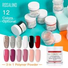 ROSALIND Nail Glitter Dipping Powder Set of Nail Art Decorations Design all for Manicure Nail Dip Powder Set