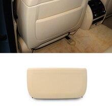 LHD RHD бежевая задняя часть спинки автомобильного сиденья, панель из натуральной кожи, Сменный Чехол для BMW F10 F11 F01 F02 5 series GT & 7 series