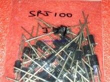 20 pièces/lot schottky diode SR5100 5A/ 100V DO -27 SB5100 en Stock
